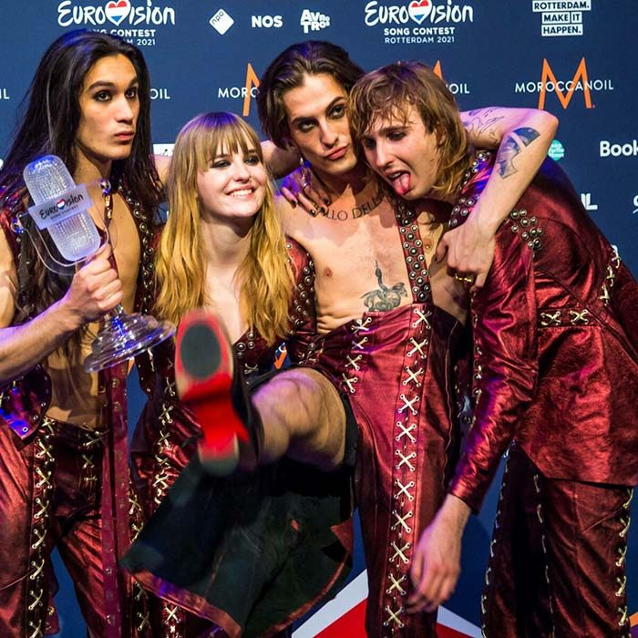 maneskin bookmakers eurovision songfestival